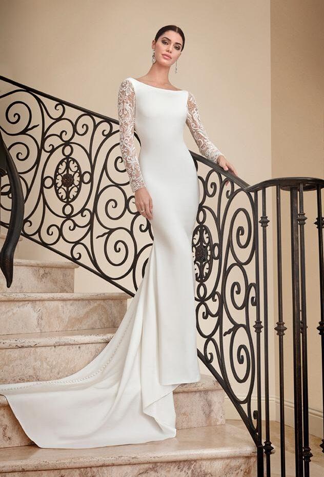 Vestido de novia senzillo